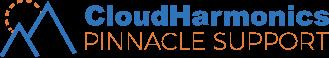 Cloud Harmonics Pinnacle Support logo